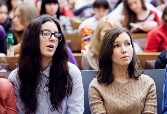 Иван Охлобыстин. Встреча со студентами журфака МГУ. Фото Анны Гальпериной (33)