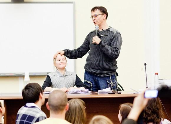Иван Охлобыстин. Встреча со студентами журфака МГУ. Фото Анны Гальпериной (38)