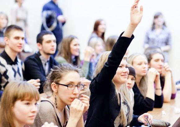 Иван Охлобыстин. Встреча со студентами журфака МГУ. Фото Анны Гальпериной (40)