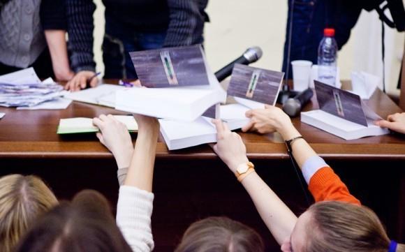 Иван Охлобыстин. Встреча со студентами журфака МГУ. Фото Анны Гальпериной (43)