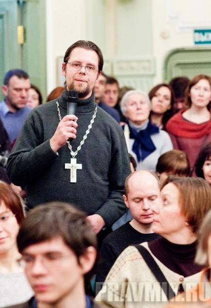 Священник Филипп Парфенов. Презентация книги о.Алексия Уминского. Фото Анны Гальпериной (32)