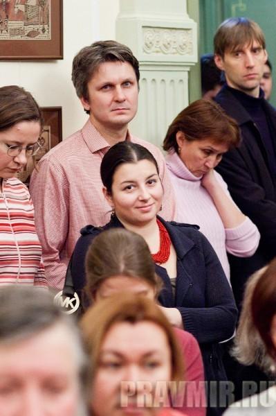 Ксения Лученко. Презентация книги о.Алексия Уминского. Фото Анны Гальпериной (33)