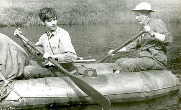 21-22.08.1973 на реке Тиман