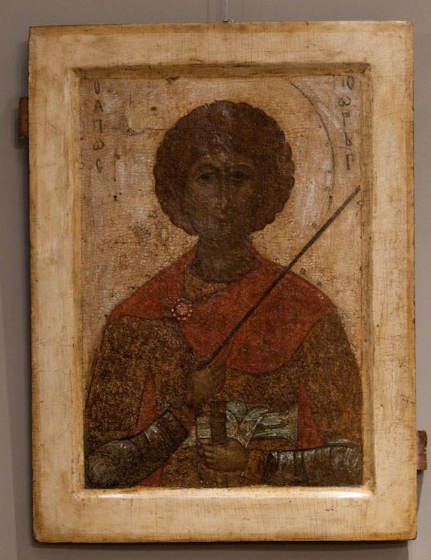 Мученик Георгий. Ок. 1300 г. Ростовские земли.