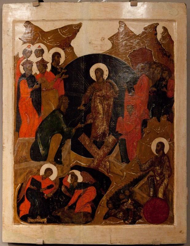 Воскресение – Сошествие во ад. XVII век. Собрание А.В.Новикова (Москва).