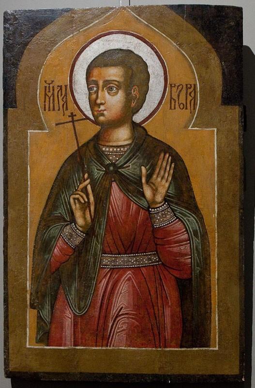 Святой мученик Лавр. XVII век. Собрание А.В.Ренжина (Москва).