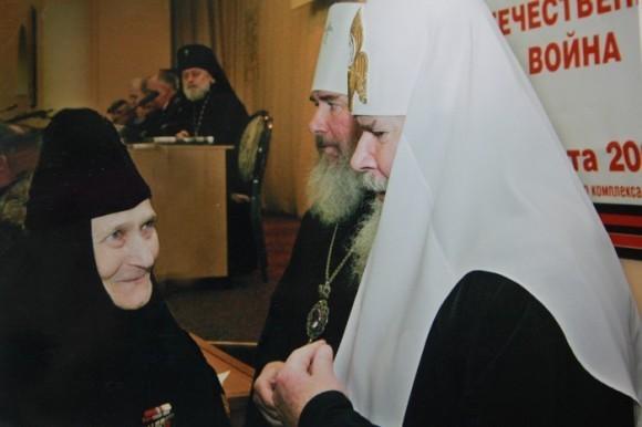 Со Святейшим Патриархом Алексием