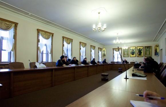 Лекции проходят в Отделе внешних церковных связей