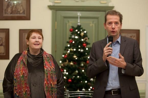 Елена Черкасова и Жан-Франсуа Тири