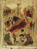 Рождество Христово. Икона XV в.