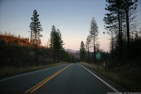 Вечер в окрестностях Платины. Красивейшие пейзажи Северной Калифорнии