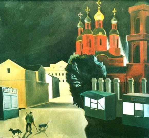 Рисунок Анисьи Каленской.