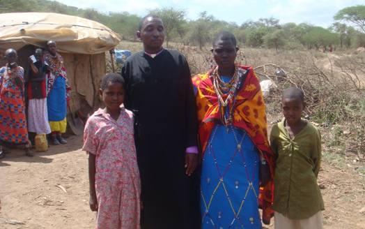 Священник и матушка