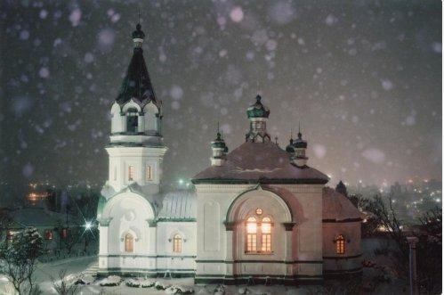 Храм в честь Воскресения Христова, в котором служит отец Николай Дмитриев