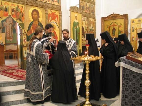Причастие. Свято-Елисаветинский монастырь, Минск