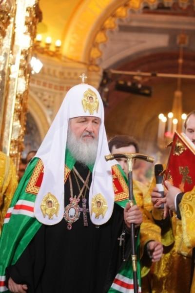 Святейший Патриарх Кирилл. Источник: http://www.sobor2009.ru