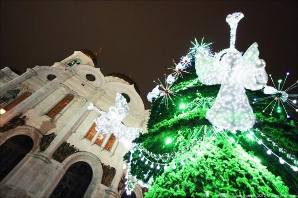 Новогодний молебен. Фото: Михаил Моисеев (3)