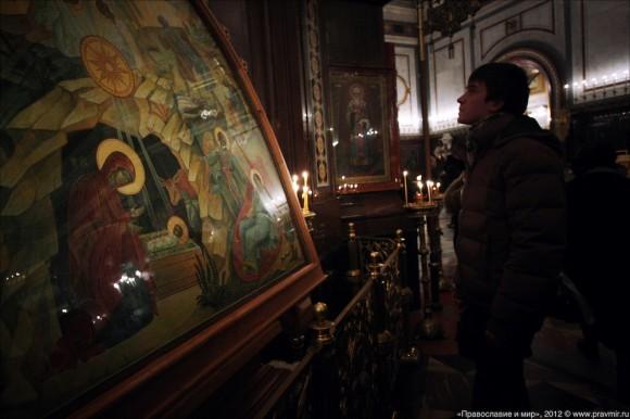 Новогодний молебен. Фото: Михаил Моисеев (15)