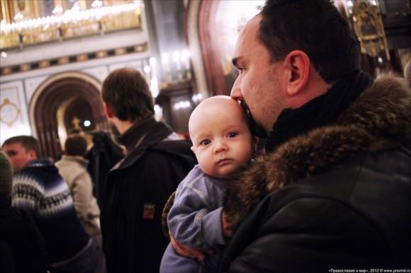 Новогодний молебен. Фото: Михаил Моисеев (19)