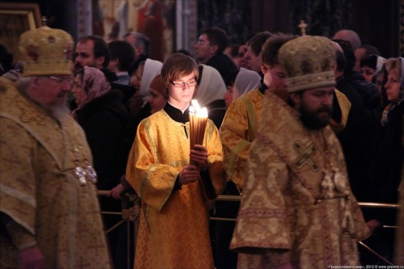 Новогодний молебен. Фото: Михаил Моисеев (7)
