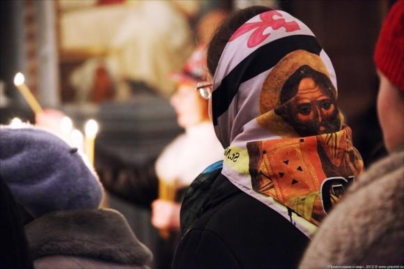 Новогодний молебен. Фото: Михаил Моисеев (10)