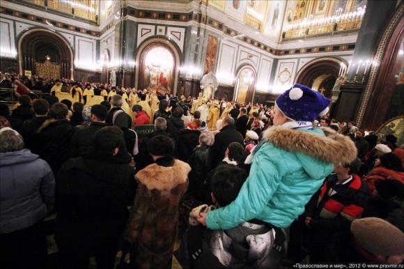 Новогодний молебен. Фото: Михаил Моисеев (11)