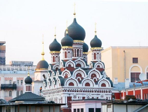 Мощи Святой Матроны Московской. Храм св. вмч. Георгия Победоносца в Ендове