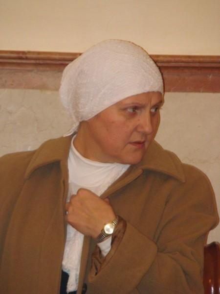Одна из активисток общины, супруг ливанец
