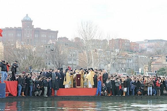 Крещение Господне. Стамбул