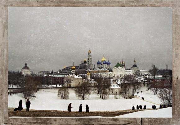 Троице-Сергиева Лавра. Фото: Mink blue
