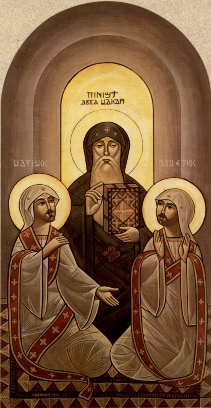 Свт. Макарий Великий - Св. Максим - св. Домат