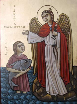 Явление ангела Товии