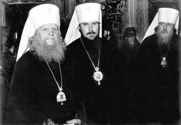 С будущими патриархами Алексием и Пименом