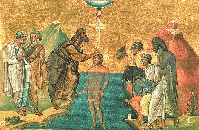Миниатюра Минология Василия II. Константинополь. 985 г