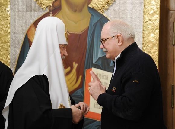 Патриарх Кирилл с Никитой Михалковым