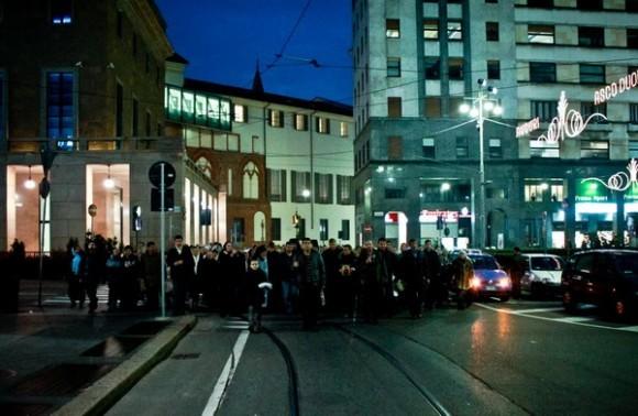 Через Милан к церкви прп. Серафима Саровского. Умягчение злых сердец
