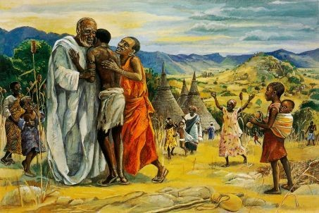 Возвращение блудного сына. Иисус Мафа