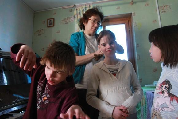 Слева направо: Миша, Маша и Тавифа