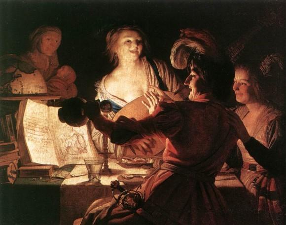 Ге́ррит ван Хо́нтхорст. Блудный сын. 1622