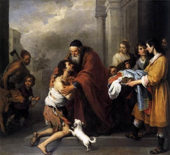 Возвращение блудного сына. Бартоломео Мурильо