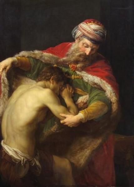 Возвращение блудного сына. Помпео Батони. 1773