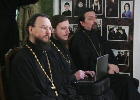 Протоиерей Павел Великанов, Иеромонах Димитрий (Першин), протоиерей Максим Козлов