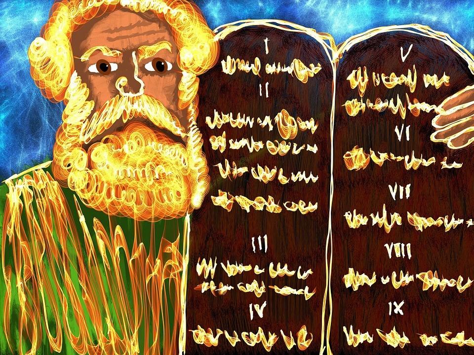 Ветхий Завет - Моисей и Заповеди