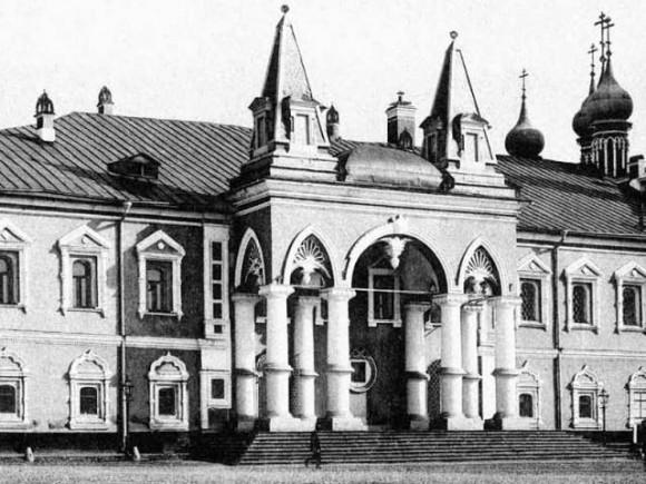 Чудов монастырь в начале XX века