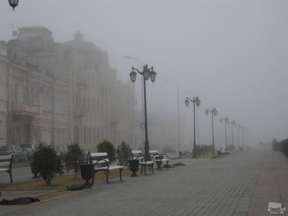 Туман. Дмитрий Щербаков (Астрахань)