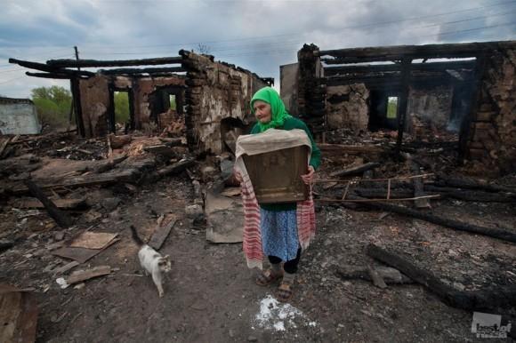 После пожара. Михаил Сухинин (Курск)