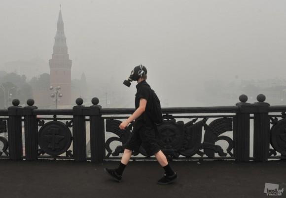 Город в дыму. Митя Алешковский (Москва)