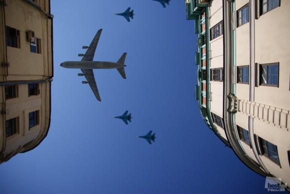 Крылья над Москвой. Александра Шестакова (Москва)