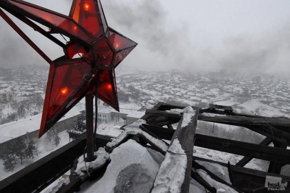 """Звезда на шахте """"Комсомолец"""". Андрей Шапран (Кемеровская область)"""