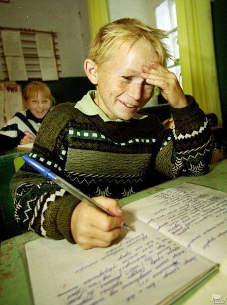 Деревенская школа. Геннадий Усоев (Рязанская обл.)